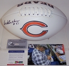 Dick Butkus - Autographed Chicago Bears Full Size Logo Football - PSA/DNA