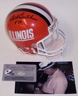 Dick Butkus - Riddell - Autographed Mini Helmet - Illinois - PSA/DNA