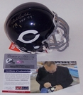 Dick Butkus - Riddell - Autographed Authentic Mini Throwback - w/HOF Mini Helmet - Chicago Bears - PSA/DNA