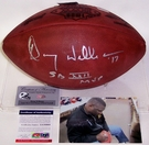 Doug Williams - Autographed Official Wilson Leather Super Bowl XXII NFL Football - PSA/DNA