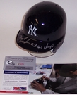 Dwight Gooden - Riddell - Autographed Batting Mini Helmet - New York Yankees - PSA/DNA