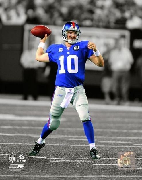 Eli Manning New York Giants Autograph Signing April 24th