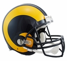 Eric Dickerson - Autographed Los Angeles Rams Riddell Full Size Authentic Proline Football Helmet