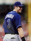 Evan Longoria - Autographed Tampa Bay Rays 16x20 photo