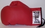 Everlast Leather Autograph Boxing Glove - Single Left glove