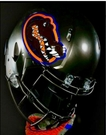 Florida Gators Swamp Green Riddell Authentic Speed NFL Full Size On Field Football Helmet