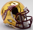 Florida State FSU Seminoles - Chrome Alternate Speed Riddell Mini Football Helmet