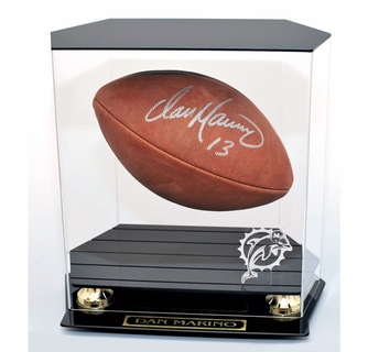 Football Floating Football Display Case