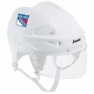 Franklin Sports NHL Helmet New York Rangers Mini Player
