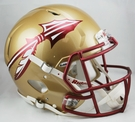 FSU Florida State Seminoles Riddell Authentic Revolution Speed NFL Full Size On Field Football Helmet