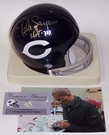 Gale Sayers - Riddell - Autographed Mini Helmet - Chicago Bears