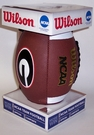 Georgia Bulldogs Logo Full Size Football - Wilson F1738