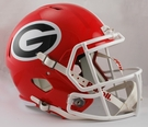 Georgia Bulldogs Riddell NCAA Full Size Deluxe Replica Speed Football Helmet