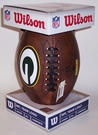 Green Bay Packers 11 inch Throwback Junior Size Football