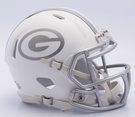 Green Bay Packers - ICE alternate Speed Riddell Mini Football Helmet