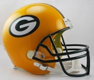 Green Bay Packers Riddell NFL Full Size Deluxe Replica Football Helmet