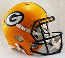 Green Bay Packers Riddell NFL Full Size Deluxe Replica Speed Football Helmet