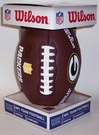 Green Bay Packers - Wilson F1748 Composite Leather Full Size Football