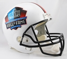 Hall of Fame Riddell NFL Full Size Deluxe Replica Football Helmet
