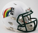 Hawaii Warriors Retro Speed Riddell Mini Football Helmet