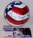 Hope Solo - Autographed Baden USA Soccer Ball - PSA/DNA