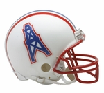 Houston Oilers 1981-1996 Throwback VSR4 Riddell Mini Football Helmet