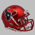 Houston Texans - Blaze Alternate Speed Riddell Mini Football Helmet