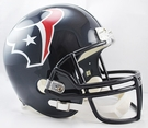 Houston Texans Riddell NFL Full Size Deluxe Replica Football Helmet
