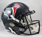 Houston Texans Riddell NFL Full Size Deluxe Replica Speed Football Helmet