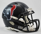 Houston Texans Speed Revolution Riddell Mini Football Helmet