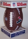 Houston Texans - Wilson F1748 Composite Leather Full Size Football