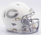Chicago Bears - ICE alternate Speed Riddell Mini Football Helmet