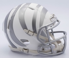 Cincinnati Bengals - ICE alternate Speed Riddell Mini Football Helmet
