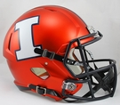 Illinois Riddell NCAA Full Size Deluxe Replica Speed Football Helmet