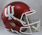 Indiana Hoosiers Riddell NCAA Full Size Deluxe Replica Speed Football Helmet