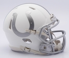 Indianapolis colts - ICE alternate Speed Riddell Mini Football Helmet