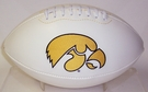 Iowa Hawkeyes Logo Full Size Signature Series Football