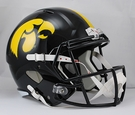 Iowa Hawkeyes Riddell NCAA Full Size Deluxe Replica Speed Football Helmet