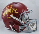 Iowa State Cyclones Riddell NCAA Full Size Deluxe Replica Speed Football Helmet