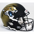 Jacksonville Jaguars Riddell Authentic Revolution Speed NFL Full Size On Field Football Helmet