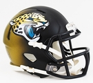 Jacksonville Jaguars Speed Revolution Riddell Mini Football Helmet