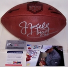 Jim Kelly - Autographed Official Wilson Super Bowl XXV NFL Football - PSA/DNA