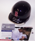 Jim Rice - Riddell - Autographed Batting Mini Helmet - Boston Red Sox - PSA/DNA