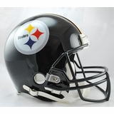 285e64cf155 Joe Greene - Autographed Pittsburgh Steelers Riddell Full Size Authentic  Proline Football Helmet