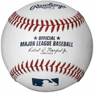Joe Montana - Autographed Official Major League Baseball