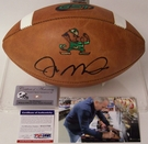 Joe Montana - Autographed Wilson Official Leather Notre Dame NCAA Football - F1003 - PSA/DNA