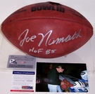 Joe Namath - Autographed Official Wilson Leather Super Bowl III NFL Football - PSA/DNA
