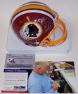 John Riggins - Riddell - Autographed Mini Helmet w/SB MVP - Washington Redskins - PSA/DNA