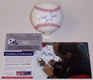 Johnny Bench - Autographed Official Rawlings MLB League Baseball - PSA/DNA