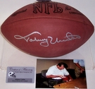 Johnny Unitas - Autographed Official Wilson NFL Leather Football - PSA/DNA
